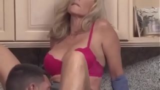 Son abused mom and fucked her rough – Fucked up family